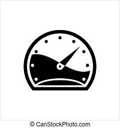 compteur vitesse, conception, icône