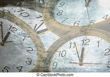 concept abstrait, temps