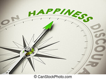 concept, accomplir, bonheur