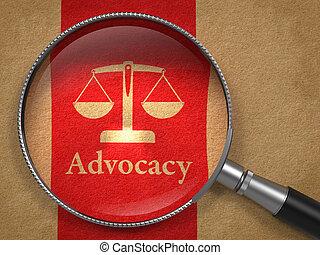 concept., advocacy