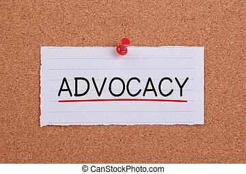 concept, advocacy