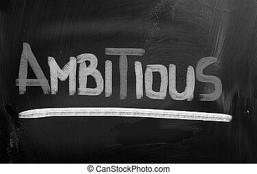 concept, ambitieux