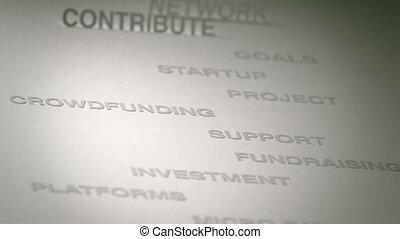 concept, animation, crowdfunding