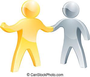 concept, association, business