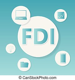 concept, business, investment), fdi, direct, (foreign