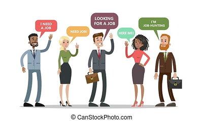 concept, candidate., animation., haut, recrutement, cueillette, mieux