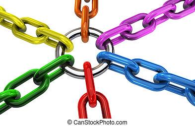 concept, collaboration, inclusion, diversité