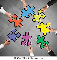 concept, collaboration, intégration