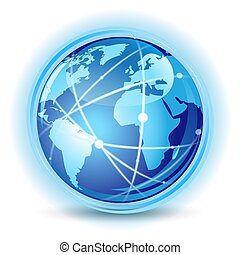 concept, communication, global