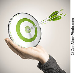 concept, compétence, business, performance
