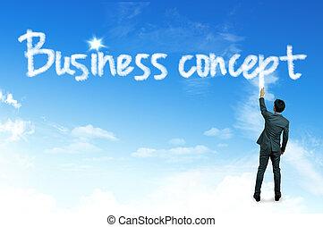 concept, concept, nuage, business