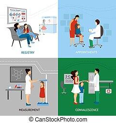 concept, conception, pédiatre