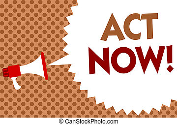 concept, dont, message texte, haut-parleur, now., jeûne, écriture, retard, halftone., demander, parole, orange, porte voix, bulle, quelqu'un, business, fond, réponse, mot, acte, action, avoir