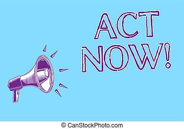 concept, dont, texte, loud., message, haut-parleur, now., jeûne, écriture, retard, demander, porte voix, parler, bleu, quelqu'un, business, important, fond, réponse, mot, acte, action, avoir