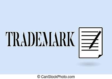 concept, droit d'auteur, texte, enregistré, trademark., intellectuel, écriture, signification, protection, legally, écriture, propriété