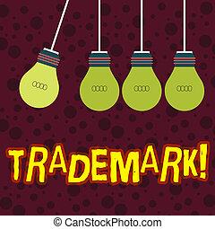 concept, droit d'auteur, texte, enregistré, trademark., intellectuel, écriture, signification, protection., legally, écriture, propriété