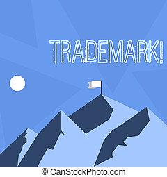 concept, droit d'auteur, texte, enregistré, trademark., intellectuel, signification, protection., legally, écriture, propriété