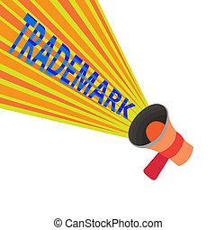 concept, droit d'auteur, texte, enregistré, trademark., intellectuel, signification, protection, legally, écriture, propriété