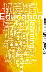 concept, education, fond