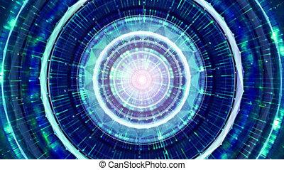 concept, espace extérieur, étranger, arrière-plan., technologie, vaisseau spatial, futuriste