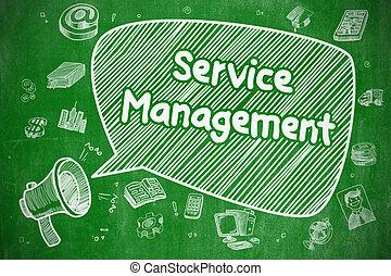 concept., gestion, -, service, business
