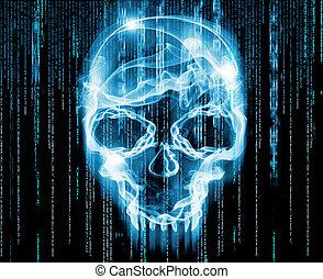 concept, hackers, illustration, numérique