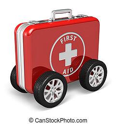 concept médical, assistance