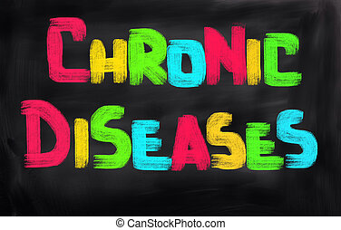 concept, maladie, chronique