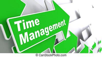 concept., management., business, temps