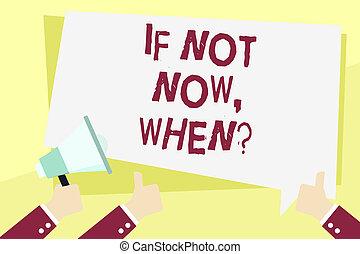 concept, mot, cible, business, texte, challenge., écriture, pas, date limite, whenquestion., action, initiative, maintenant, si