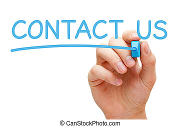 concept, nous, contact