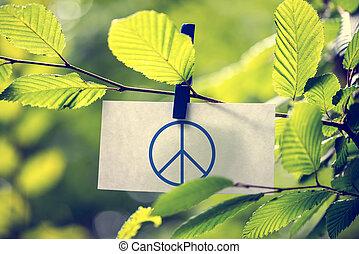 concept, paix