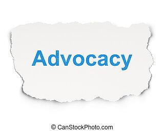 concept:, papier, fond, advocacy, droit & loi