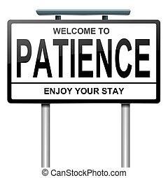 concept., patience
