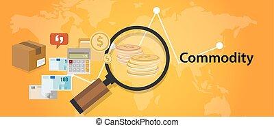 concept, produit, commerce, investissement, marché, économie