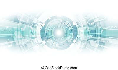 concept, résumé, illustration, fond, vecteur, technologie