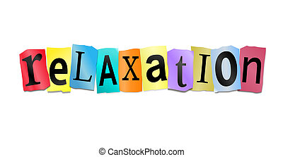 concept., relaxation