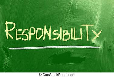 concept, responsabilité