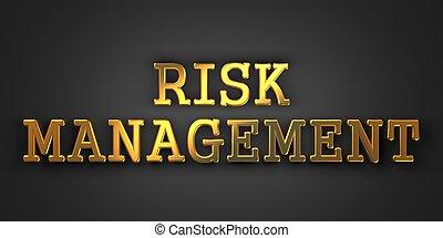 concept., risque, business, management.