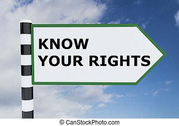 concept, savoir, droits, ton