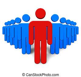 concept, success/leadership