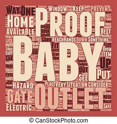 concept, texte, comment, wordcloud, fond, bébé, maison, ton, preuve