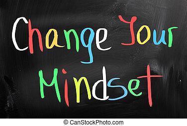 concept, ton, changement, mindset