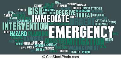 concept, urgence
