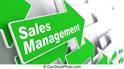 concept., ventes, business, management.