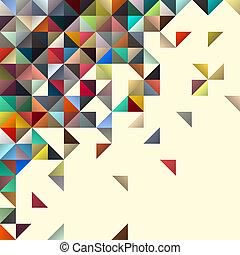 conception abstraite, géométrique, fond