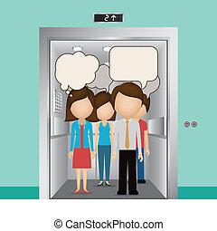 conception, ascenseur
