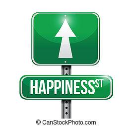 conception, bonheur, illustration, signes