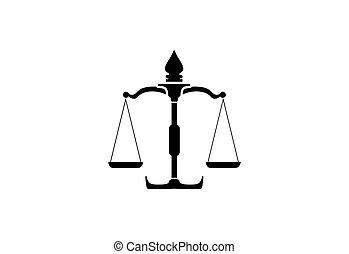 conception, cabinet juridique, logo, gabarit