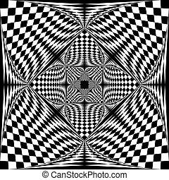 conception, descendre, hypnotique, barrière